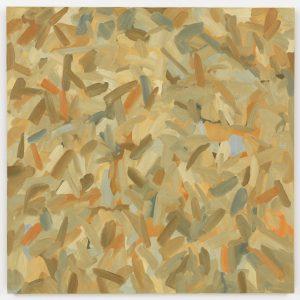 Broken Color Painting: Cadmium Orange, Ultramarine Blue, 1978. Oil on canvas, 38 × 38 inches (96.5 × 68.5 cm)
